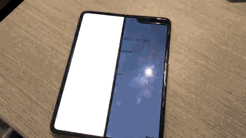 Issues of the new Samsung Galaxy Fold!