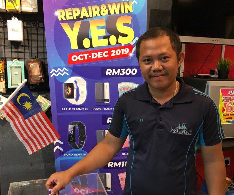 Phone 6 GPS Antenna And Battery Replacement At iPro Ampang