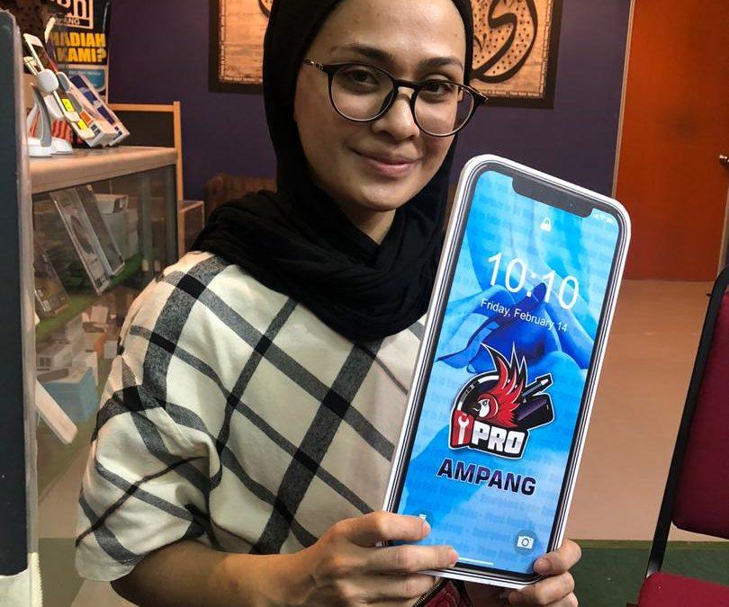 iPhone 7 LCD Replacement at iPro Ampang