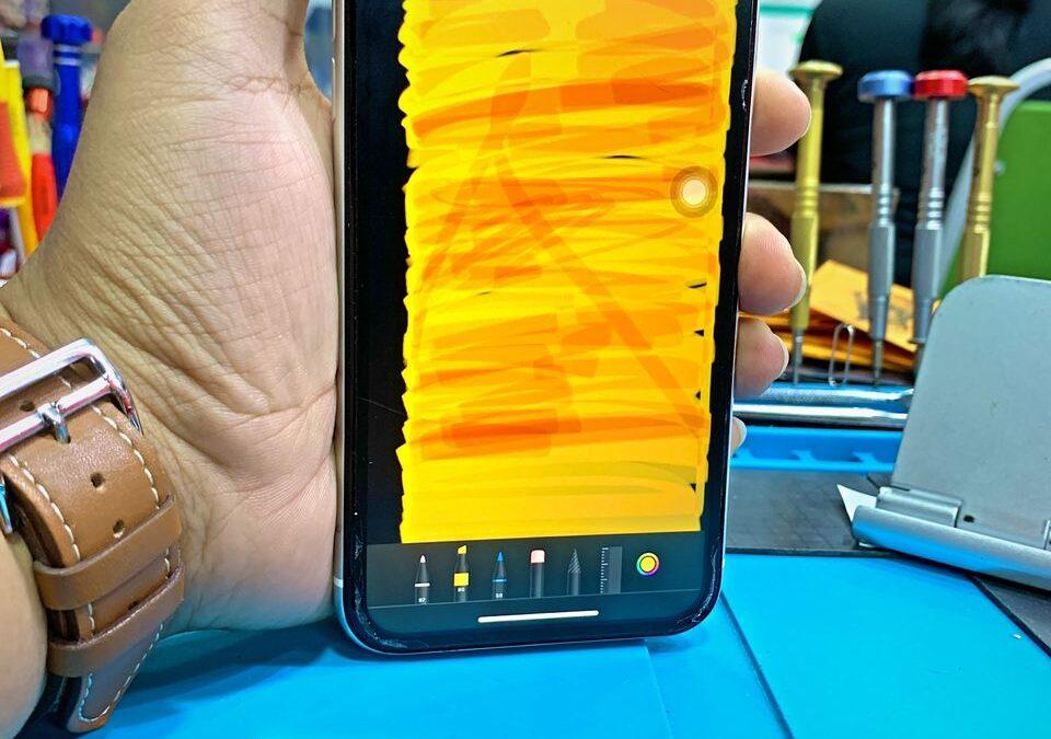 iPhone Xr Partially Unresponsive Screen Repair In Kuala Lumpur