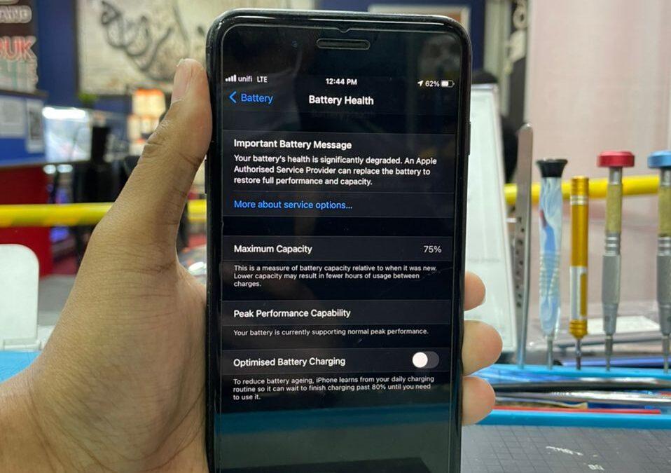 Repair iPhone 8 Plus Battery Drain In KL